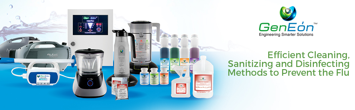GenEon's Toxic-Free Products and Cleaning Devices