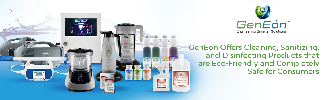 GenEon's Cleaning, Disinfecting and Sanitizing Products