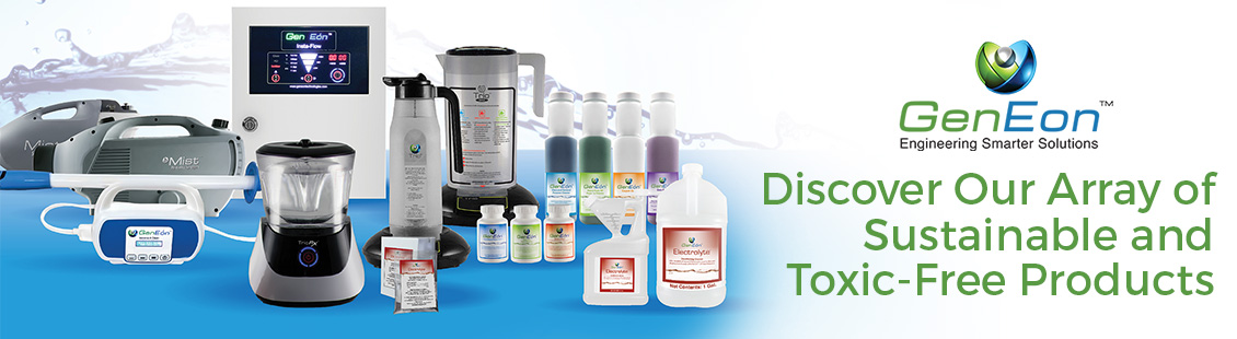GenEon Technologies Innovative Cleaning, Sanitizing and Disinfecting Solutions