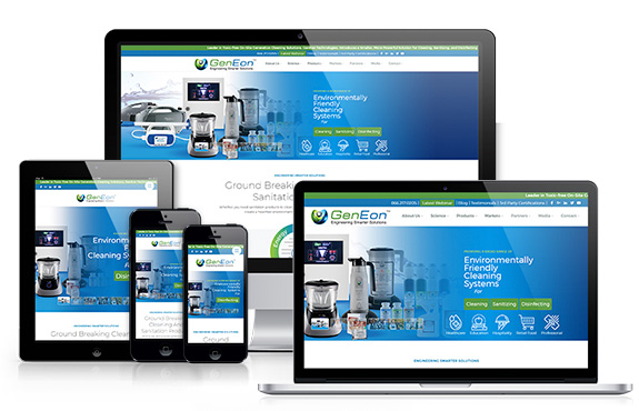 GenEon's Responsive New Website