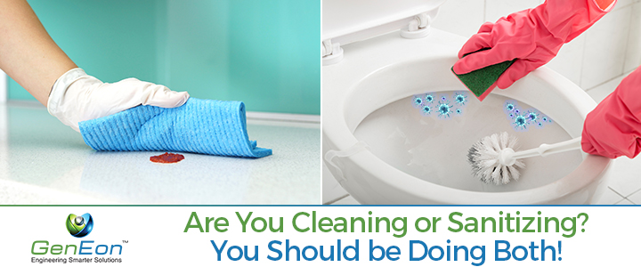what s the difference between cleaning and sanitizing