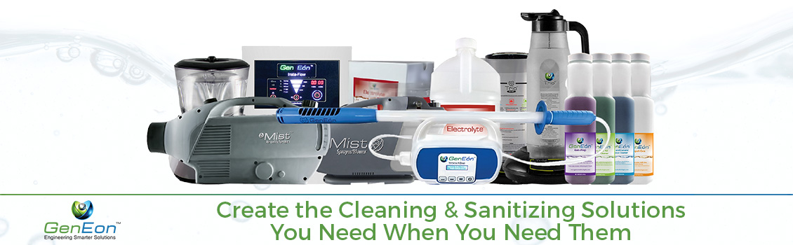 Create the Cleaning & Sanitizing Solutions You Need When You Need Them