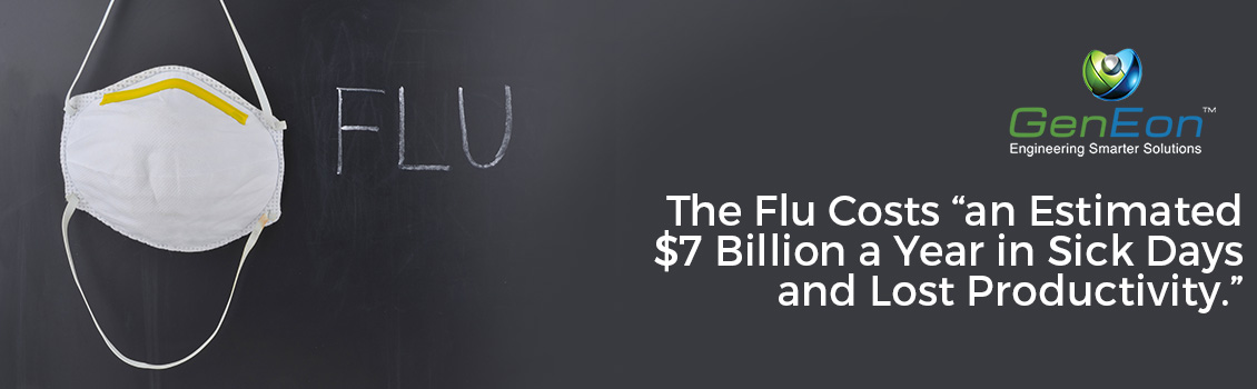 The Flu Costs An Estimated $7 Billion A Year in Sick Days and Lost Productivity