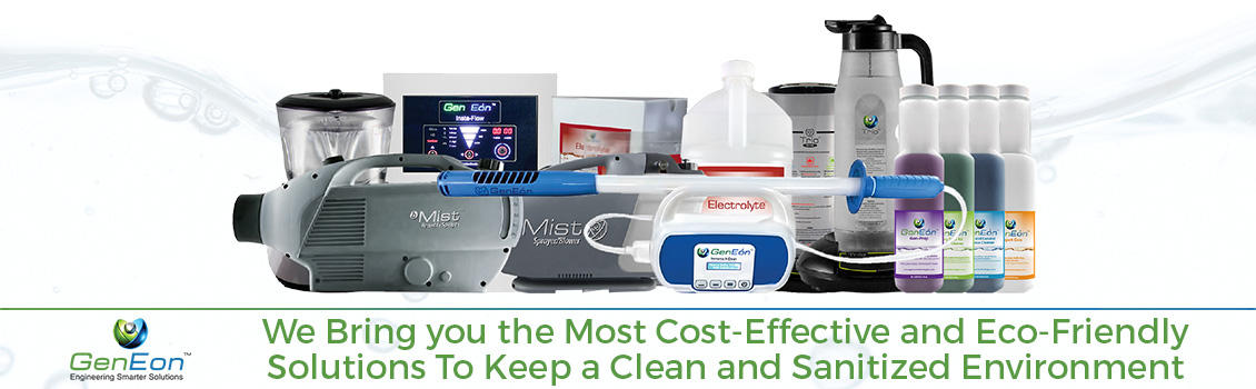 We Bring you the Most Cost-Effective and Eco-Friendly Solutions to Keep a Clean and Sanitized Environment