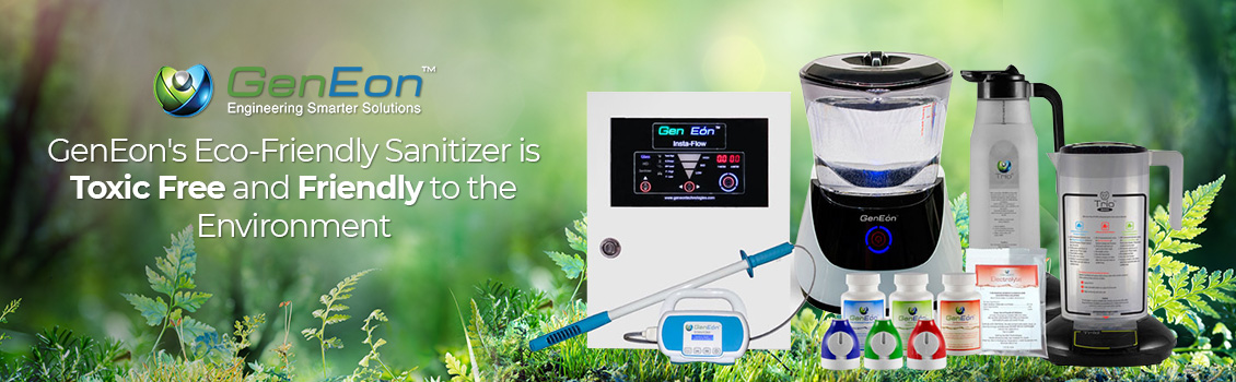 GenEon's Eco-Friendly Sanitizer is Toxic-Free and Friendly to the Environment