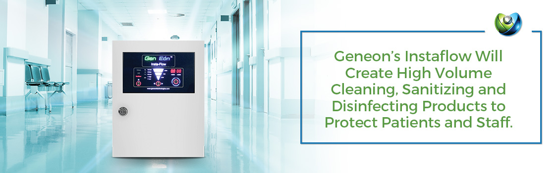 GenEon's Instaflow Cleans Hospitals Effectively
