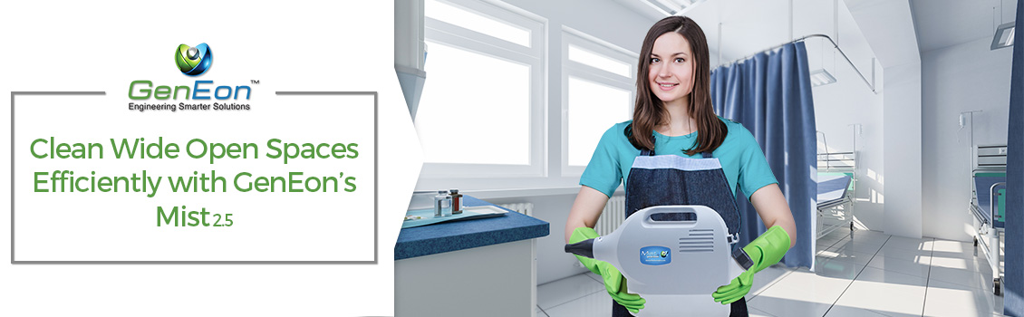 GenEon's Mist 2.5 for Hospital Cleaning