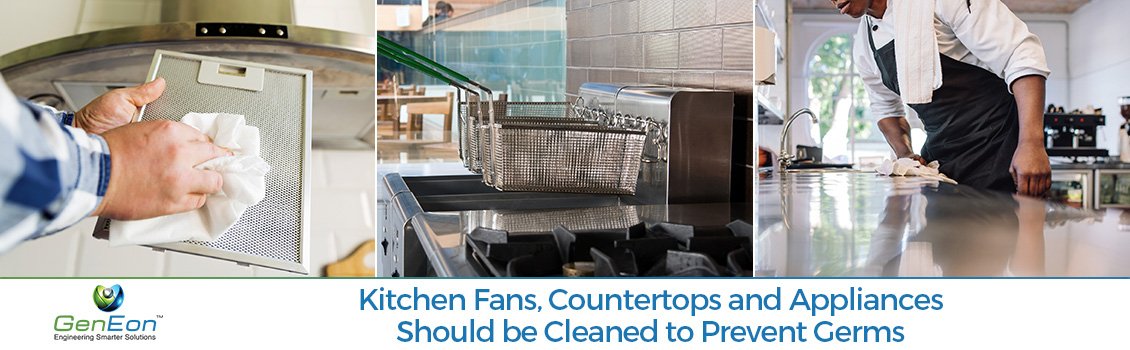 Cleaning Kitchen Fans, Countertops and Appliances