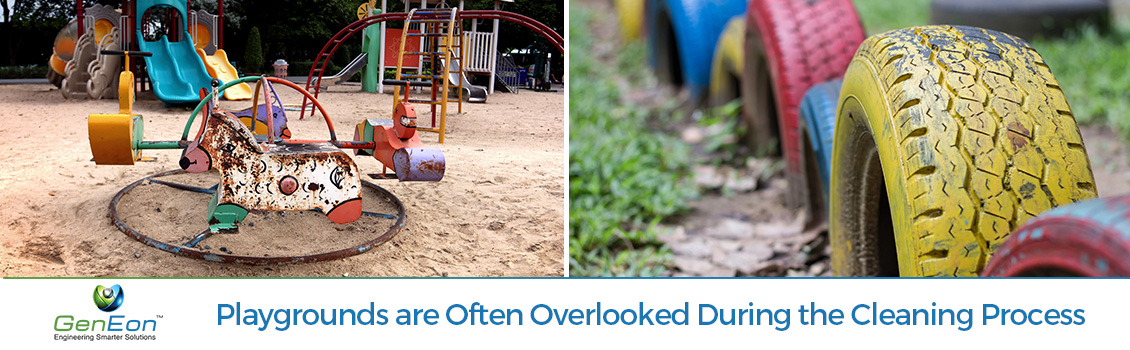 Dirty and Neglected Playgrounds