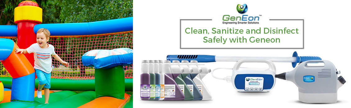 GenEon's Sanitizing, Cleaning and Disinfecting Solutions