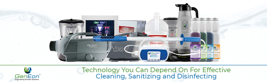 On-Site Generation Technology to Create Non Toxic Cleaning Solutions
