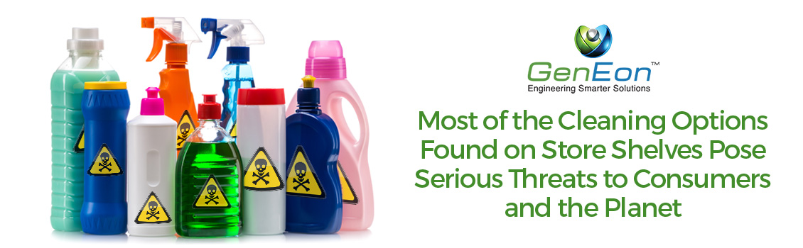 Stop Using Dangerous Products and Use Chemical-Free Cleaning Products