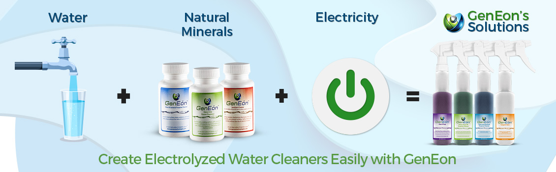 GenEon's Onsite Generation Process Creates Electrolyzed Water Cleaner