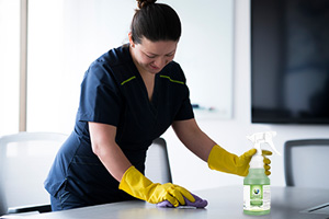 Cleaning and Sanitizing Commercial Settings