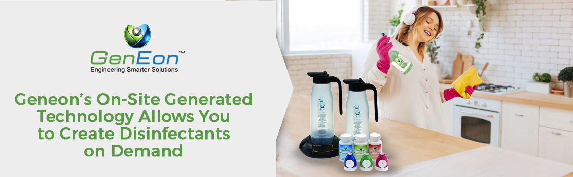 GenEon's On-Site Generated Disinfectant