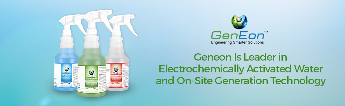 GenEon's Electrochemically Activated Water