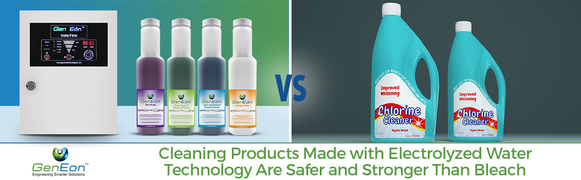 GenEon's Products vs Bleach