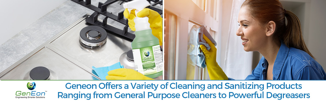 Cleaning Safely with GenEon's Solutions