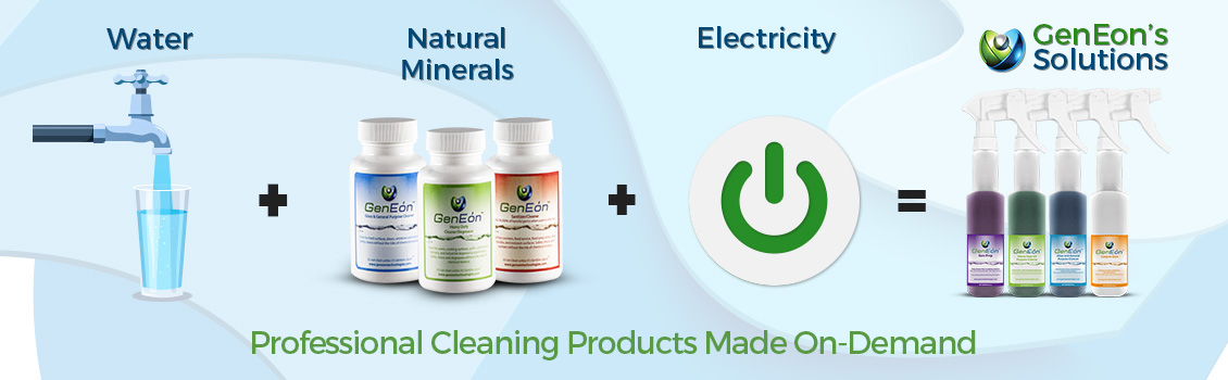 Professional Cleaning Products Made On-Demand