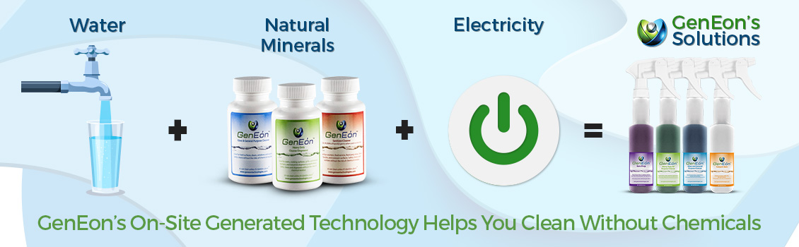 GenEon's On-Site Generated Technology Helps You Clean Without Chemicals