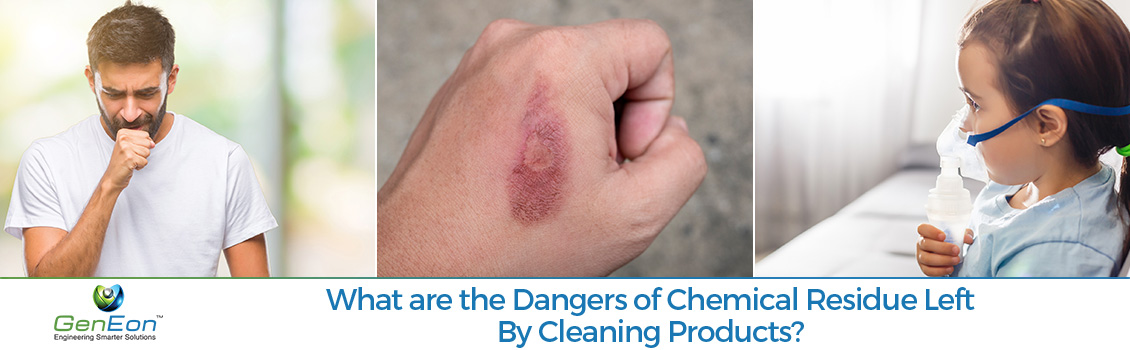 Dangers of Chemical Residue Left by Cleaning Products