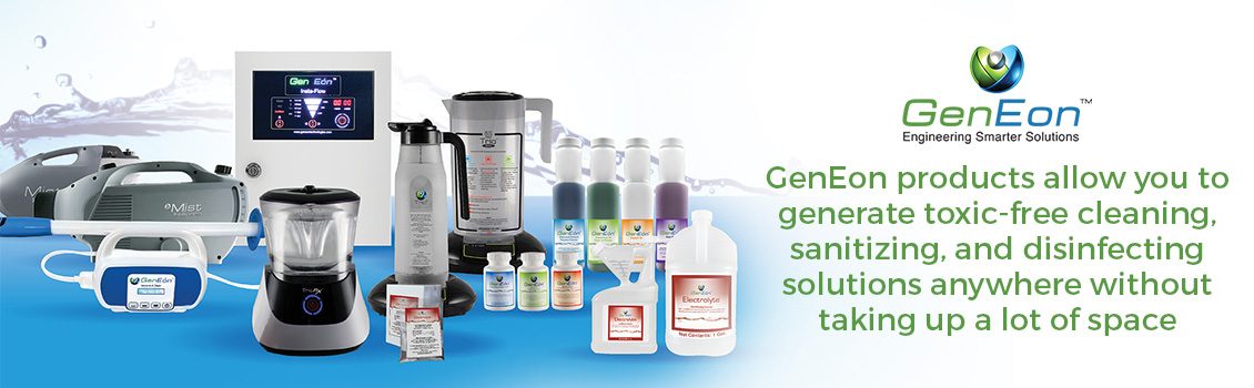 GenEon's Products Take Care of Your Staff and the Enviroment