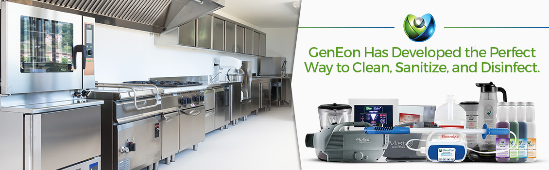 GenEon Technologies Sanitizing and Disinfecting Technology