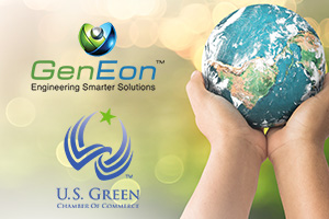 GenEon Makes a Donation to the US Green Chamber of Commerce