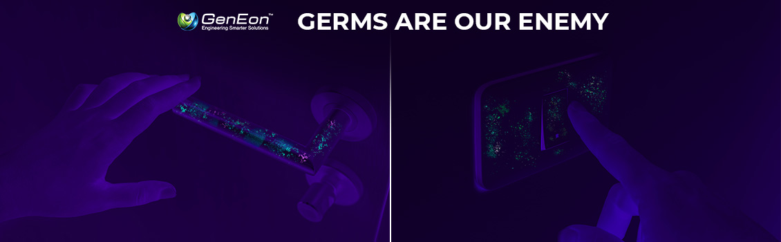 Germs Are in Our Homes, Schools, Workplace and Are Our Enemy