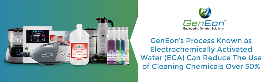 GenEon's Products Can Replace Regular Cleaners, Disinfectants, and Sanitizers