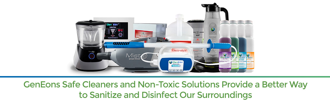 GenEon's Complete Line of Cleaning, Sanitizing, and Disinfecting Products